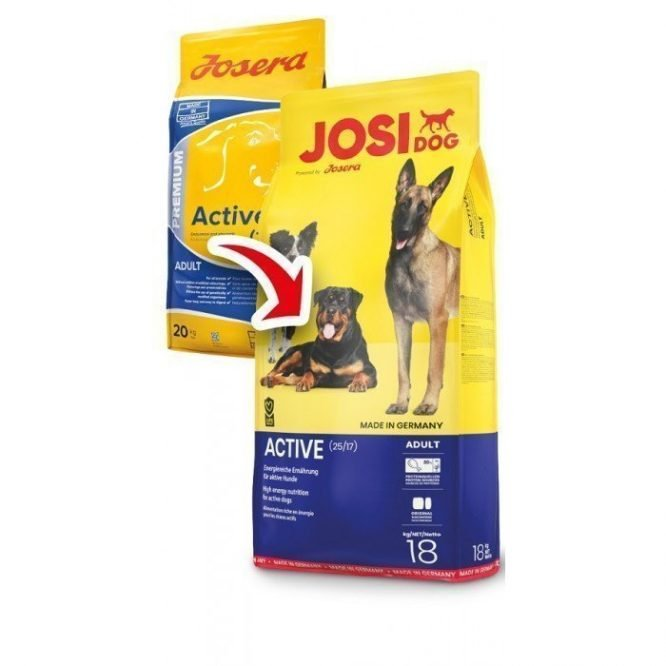 Josera Active old design