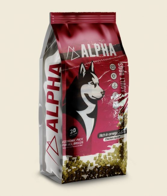 alpha dry food Happet