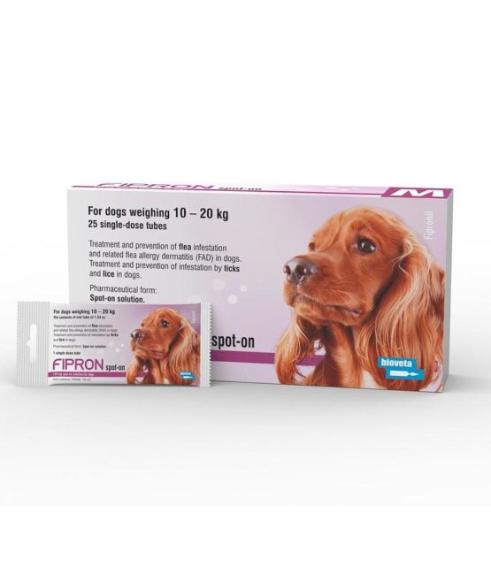 Fipron Spot-On Dog Medium 10-20Kg x 1 Dose