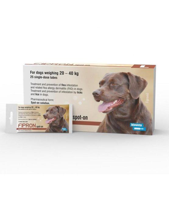 Fipron Spot-On Dog Large 20-40kg x 1 Dose