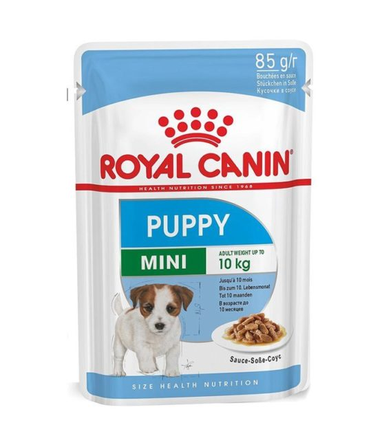 royal canin mini puppy pouch g
