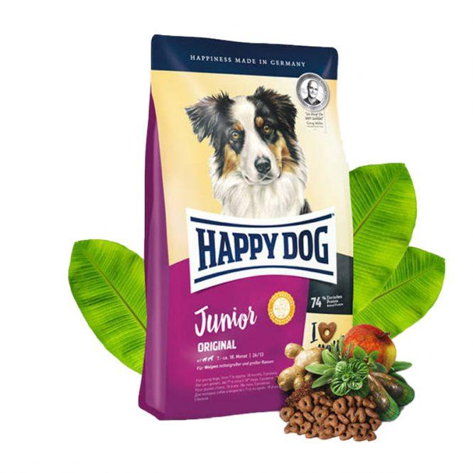 Happy Dog Junior Original 4 kg vegan