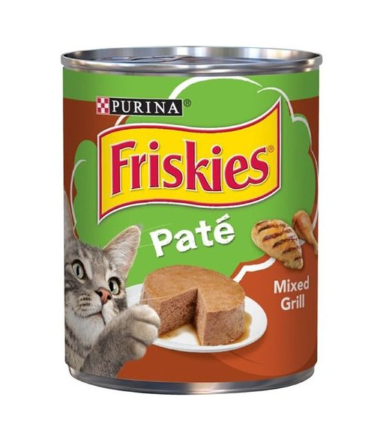 Purina Friskies pate mixed grill