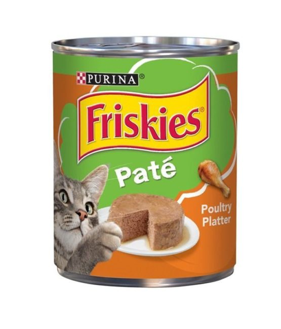 Purina Friskies pate poultry
